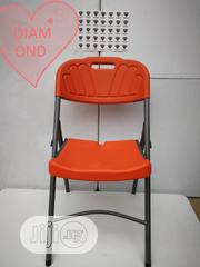 Strong Plastic Foldable Chair With Metal Leh | Furniture for sale in Lagos State, Ojo