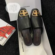 Balenciaga Men'S Leather Half Shoe Black | Shoes for sale in Lagos State, Ikeja