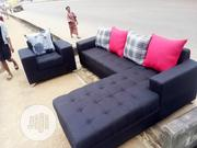 Sofa Chair With a L-Shape and 7sitter Set | Furniture for sale in Lagos State, Oshodi-Isolo