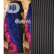 Striped Black And White Kaftan | Manufacturing Services for sale in Abuja (FCT) State, Jabi