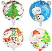 "18"" Merry Christmas Round Balloon 
