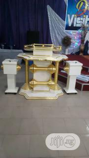 High Quality Pulpit And Offering Box | Furniture for sale in Lagos State, Ikeja