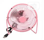 Electric Metal Portable Office Desk USB Mini Fan | Home Appliances for sale in Abuja (FCT) State, Kubwa
