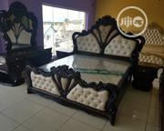 6x7 Turkey Royal Bed With Mattress and Wardrobe | Furniture for sale in Lagos State, Ojo