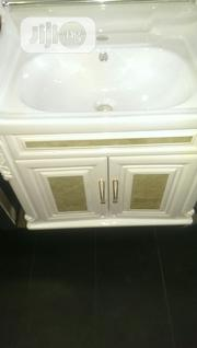 Italian Complete Cabinet Basin With Mirror And Tap | Plumbing & Water Supply for sale in Lagos State, Orile