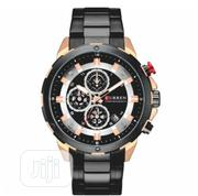 Curren Chronograph Calendar Wristwatch for Men | Watches for sale in Lagos State, Ojo