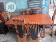 High Quality and Durable Dinning Table With 6 Chairs | Furniture for sale in Rivers State, Port-Harcourt