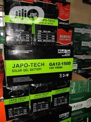 12v 150ah Japo_tech Battery | Solar Energy for sale in Lagos State, Ojo