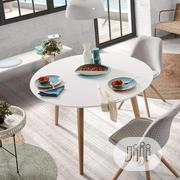 Inspire Round 4 Seater Dining Table (Reference: Fx188 | Furniture for sale in Lagos State, Ikeja