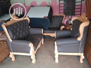 Complete Set of 7seaters Beautifullly Designed Italian Sofas / Chairs | Furniture for sale in Rivers State, Port-Harcourt