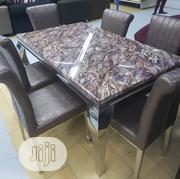 Quality Marble Dining Table With 6 Chairs | Furniture for sale in Lagos State, Ojo