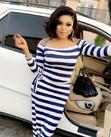 Long Srtiped Dress   Clothing for sale in Port-Harcourt, Rivers State, Nigeria