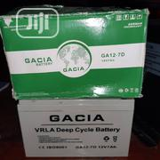 12v 7ah Gacia Battery | Electrical Equipment for sale in Lagos State, Ojo