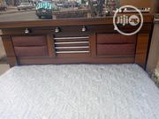 4ftx6ft High Quality Beautifully Designbed, Mattress 1side Cupboard | Furniture for sale in Rivers State, Port-Harcourt