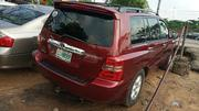 Toyota Highlander 2003 Red | Cars for sale in Lagos State, Amuwo-Odofin