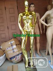 Female Chrome Mannequin In Gold | Store Equipment for sale in Lagos State, Lagos Island
