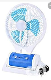 FAN With Led Light - JR-5588 With 3watts Solar Panel | Solar Energy for sale in Lagos State, Mushin