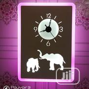 Led Lamps Plus Wall Clock | Home Accessories for sale in Lagos State, Ojo