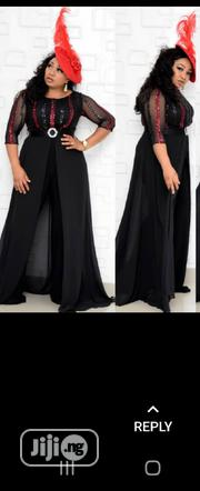 Turkey Black With Red Jumpsuit   Clothing for sale in Lagos State, Lagos Island