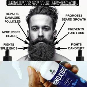 Teemu Minoxidil - Guaranteed & Effective Beard & Hair Growth Oil
