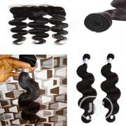 14inch 200gram Bodywaves Human Hair With 12inch Fronter | Hair Beauty for sale in Lagos State, Lagos Mainland