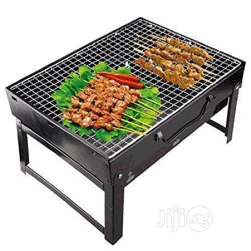 Portable Foldable Barbeque Grill