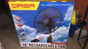"""Original QASA Rechargeable Fan 18"""" 