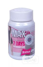 Max Slim 7 Days Weightloss Capsule | Vitamins & Supplements for sale in Lagos State, Surulere