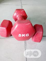 5kg Dumbbell Red And Blue | Sports Equipment for sale in Lagos State, Lagos Mainland