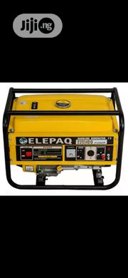 3.5 Kva Elepaq Manual Starter Generator With Real Copper | Electrical Equipments for sale in Lagos State, Lagos Mainland