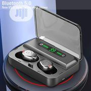 Bluetooth Earphones F9 TWS Earbuds Waterproof Hifi Wireless | Headphones for sale in Lagos State, Ajah