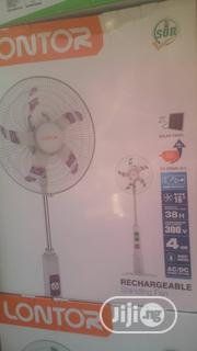 "Lontor 16"" 38hrs Rechargable Fan Cf034r16c 