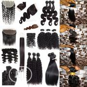 Real 9A 10A Human Hairs Straight, Body Wave, Kinky Curly, Waterwave | Hair Beauty for sale in Lagos State, Lagos Mainland