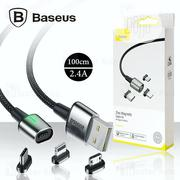 Baseus Zinc Magnetic Cable Kit   Accessories & Supplies for Electronics for sale in Lagos State, Ikeja