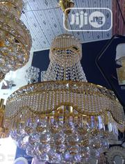 Crystal Chandelier Light Gold With LED Bulbs | Home Accessories for sale in Abuja (FCT) State, Central Business District
