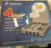Thermocool 4 Burner Gas Cooker Brand New | Kitchen Appliances for sale in Abuja (FCT) State, Gaduwa