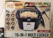 Qasa 10 - In - 1 Multi Cooker QMC-8000 Brand New | Kitchen Appliances for sale in Abuja (FCT) State, Gaduwa