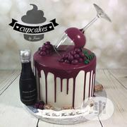 Wine Bottle Drip Cake | Party, Catering & Event Services for sale in Oyo State, Ibadan South East
