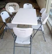 White Dinning Set 6 | Furniture for sale in Lagos State, Ojo