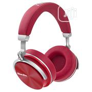 Bluedio T4 Active Noise Cancelling Wireless Bluetooth Headphones - Red | Headphones for sale in Lagos State, Ikeja