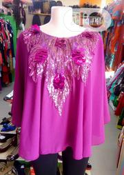 Lovely Purple Sequence Top For Ladies | Clothing for sale in Lagos State, Ajah