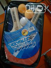 Tennis Bat With Three Ball   Sports Equipment for sale in Lagos State, Ikoyi