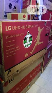 LG 55 Inches Smart Curve LED 4K TV | TV & DVD Equipment for sale in Lagos State, Ojo