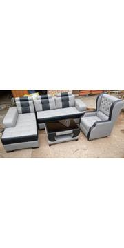 L Shaped Complite Set | Furniture for sale in Lagos State, Ikeja