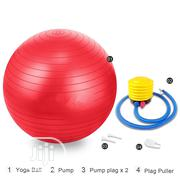 High Quality Anti-Burst Gym Ball With Air Pump | Sports Equipment for sale in Lagos State, Ikoyi