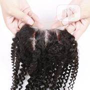 Kinky Curls Human Hair Closure Available | Hair Beauty for sale in Lagos State, Lagos Mainland