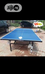 Standard Table Tennis Board With Quality Bats and Eggs | Sports Equipment for sale in Lagos State, Surulere