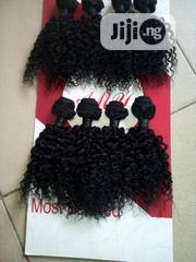 Original Human Hair Kinky Weavon 10inchs With Full Closure | Hair Beauty for sale in Ogun State, Abeokuta South