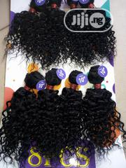 8 Pcs 10inchs Kinky Weavon | Hair Beauty for sale in Ogun State, Abeokuta South