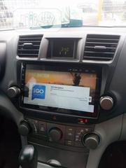 08 Toyota Highlander Android Screen | Vehicle Parts & Accessories for sale in Lagos State, Mushin